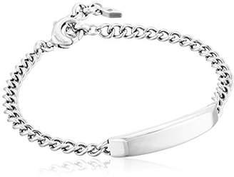 Fossil Engravable Link Bracelet