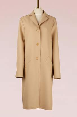 Nina Ricci Light Wool Long Coat