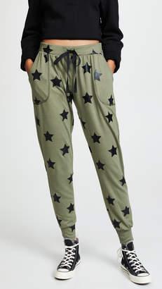 Terez Foil Printed Jogger Pants