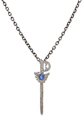 Feathered Soul Women's Sword Pendant Necklace