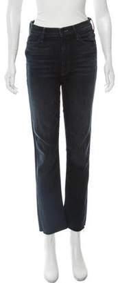 Mother The Rascal Ankle Snippet Mid-Rise Jeans