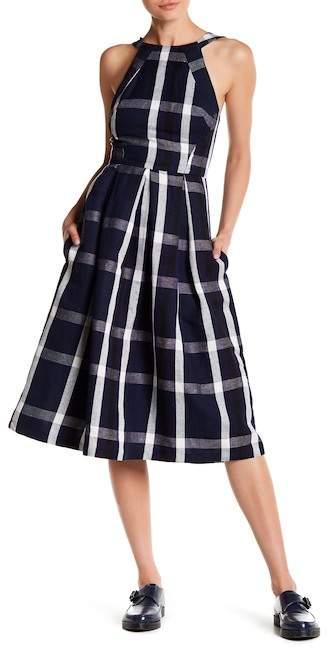 Eva FrancoEva Franco Mandy High Neck Textured Dress
