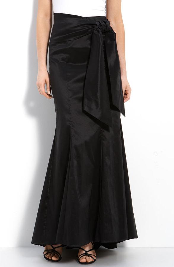 Adrianna Papell Taffeta Skirt