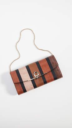 Salvatore Ferragamo Gancino Clip Patchwork Bag
