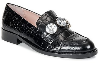 Moschino Cheap & Chic Moschino Cheap Chic Moschino Cheap CHIC STONES women's Loafers / Casual Shoes in Black