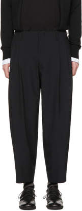 Comme des Garcons Black Tropical Wool Trousers