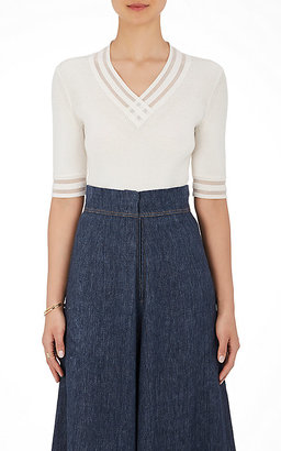 BY. Bonnie Young Women's Cashmere Rib-Knit Top $1,150 thestylecure.com