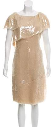 Chanel Sequined Cocktail Dress