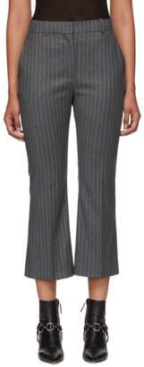 Altuzarra Grey Pinstripe Adler Trousers
