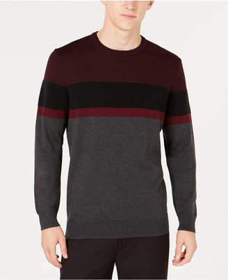 Alfani Men's Ottoman Striped Sweater