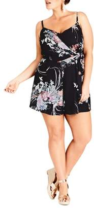 City Chic Flourish Romper