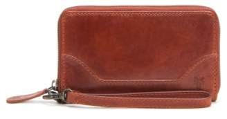 Frye Melissa Leather Phone Wallet