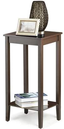 Yaheetech Tall Wood Coffee Table Living Room Sofa Side End Antique Nightstand Bedside Tables