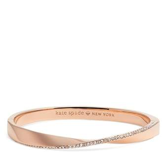 Kate Spade Do The Twist Pave Bangle