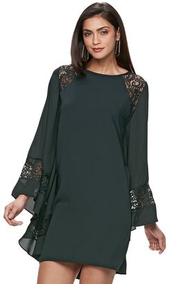 Women's Jennifer Lopez Lace Kaftan Shift Dress $74 thestylecure.com
