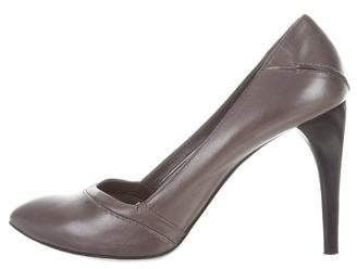 Costume National Metallic Pointed-Toe Pumps footaction cheap price clearance 100% guaranteed collections cheap price official site sale online wide range of sale online p5AsWaPIg8