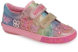 Lelli Kelly Kids Beaded Sneaker
