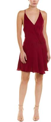 Haute Hippie Cassidy Silk Mini Dress
