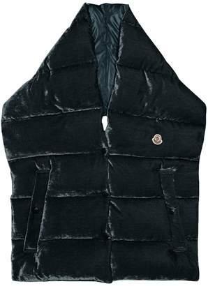 Moncler Velvet padded puffa scarf