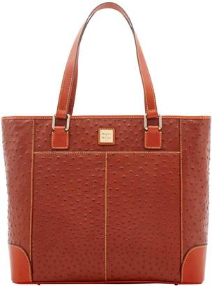 Dooney & Bourke Ostrich Newport Shoulder Tote