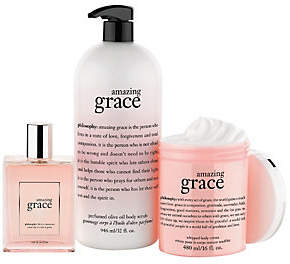 philosophy Super-Size Embrace Love And Gracefragrance Trio