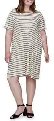 Junarose Plus Santana Short-Sleeve Above Knee Dress