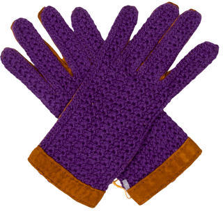 Etro Etro Suede Gloves w/ Tags