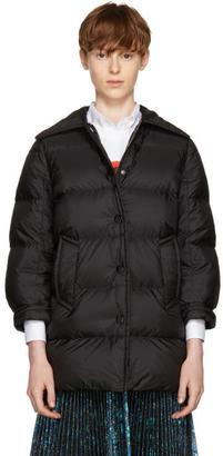Prada Black Down Puffer Coat