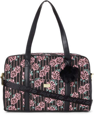 Betsey Johnson Luv Betsey By Black & Rose Cruzin Quilted Weekender
