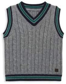 Janie and Jack Little Boy's& Boy's Sweater Vest