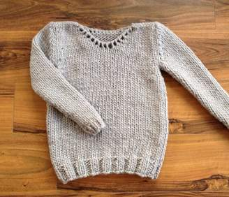 Your Own Stitch & Story Make Hadley Jumper Sweater Knitting Kit