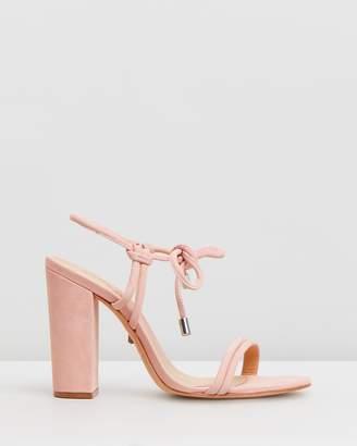 Schutz Bow Tie Heel Sandals