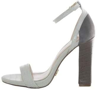 Pour La Victoire Chase Sandal $225 thestylecure.com