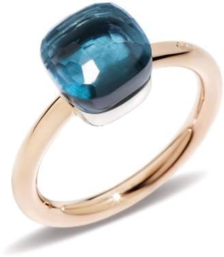 Pomellato Nudo London Blue Topaz Petite Ring