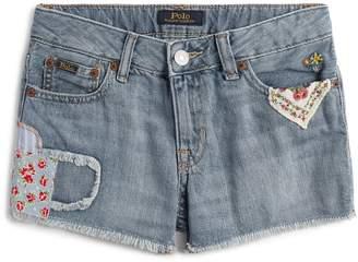 Ralph Lauren Distressed Denim Shorts