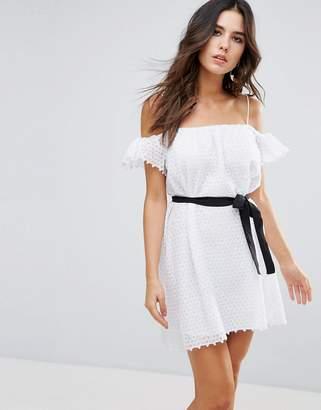 Little White Lies Veronique Cold Shoulder Dress