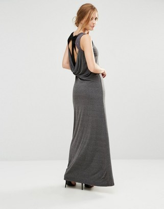 Little Mistress Jersey Maxi Dress $30 thestylecure.com
