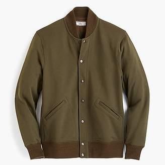 J.Crew Wallace & Barnes cotton varsity jacket