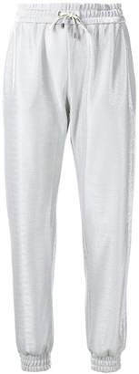 Pinko tapered track trousers