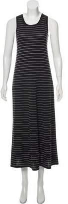 Madeleine Thompson Cashmere & Silk-Blend Stripe Dress