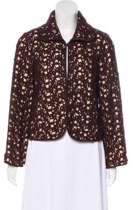 The Wrights Lace Collared Jacket