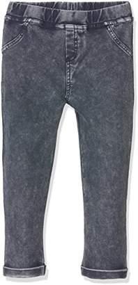 Name It Girl's NITJANE SWE Legging MZ GER Trouser, Blue (Dress Blues), 104
