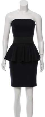 Michael Kors Strapless Wool Dress w/ Tags Black Strapless Wool Dress w/ Tags
