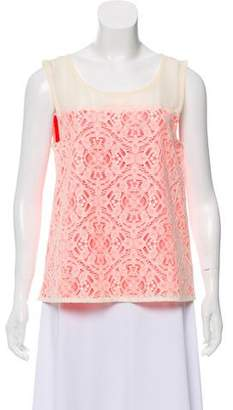 Marc by Marc Jacobs Lace Sleeveless Top w/ Tags