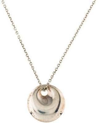 Tiffany & Co. Elsa Peretti Round Pendant silver Elsa Peretti Round Pendant