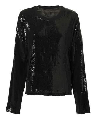 79967cd2cd8105 Extra 40% Off at Intermix · RtA Emmet Sequin Sweatshirt