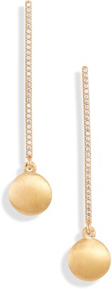 Dean Davidson Signature Pave Pendulum Drop Earrings