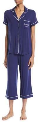 Kate Spade Goodnight Cropped Pajama Set