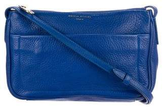 Sonia Rykiel Grained Leather Crossbody Bag