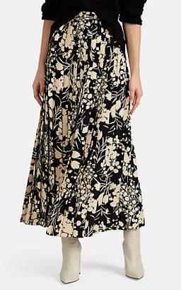 The Row Women's Lawrence Silk Maxi Skirt - Black